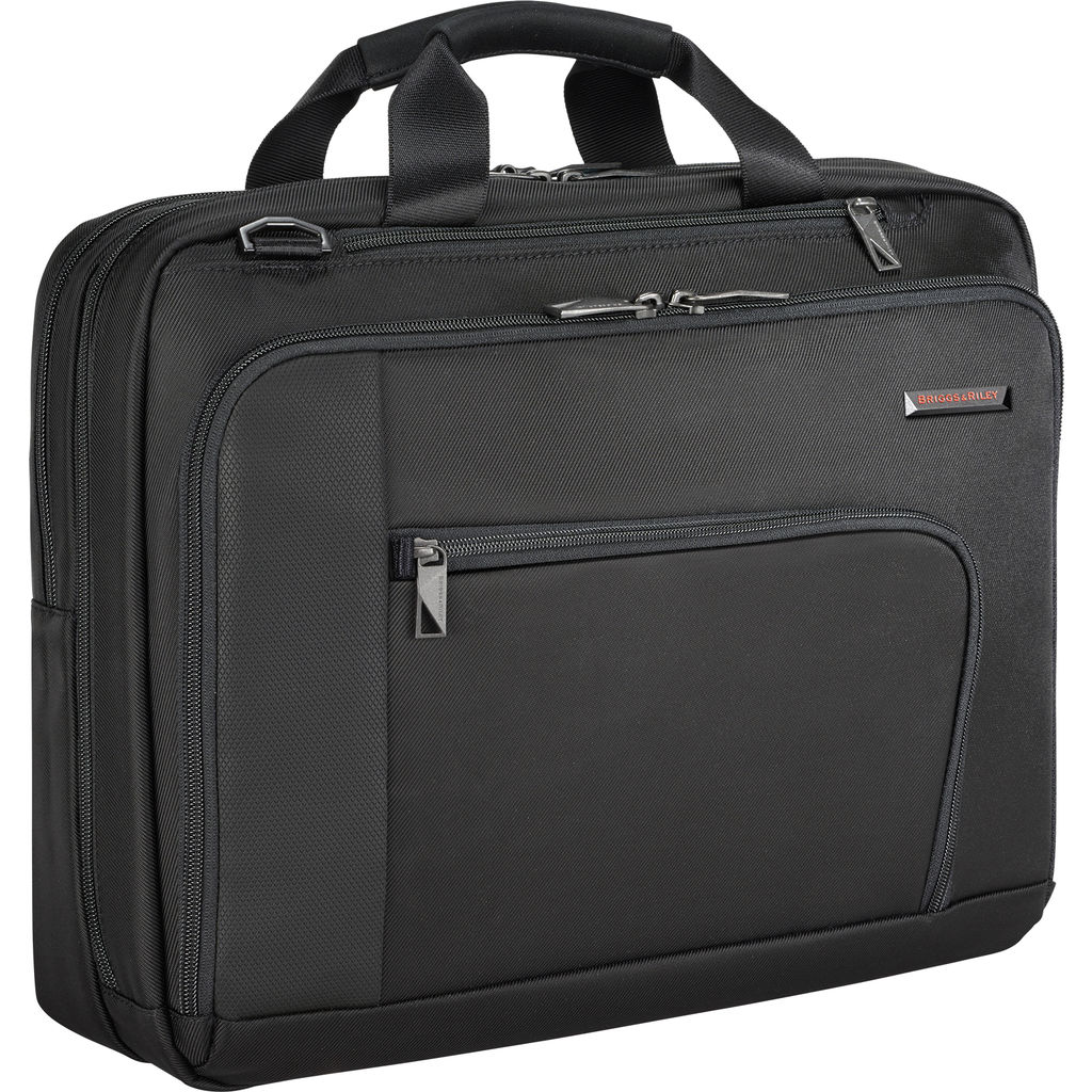 Briggs & Riley Contact Medium Briefcase  | Black