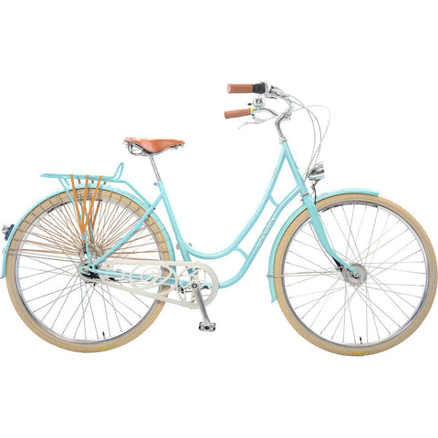 Viva Juliett Classic 7 City Cruiser Bicycle with Lights VIV-011-7