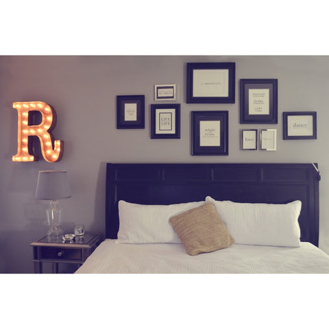 "Vintage Marquee Lights 24"" Letter R Decorative Light 