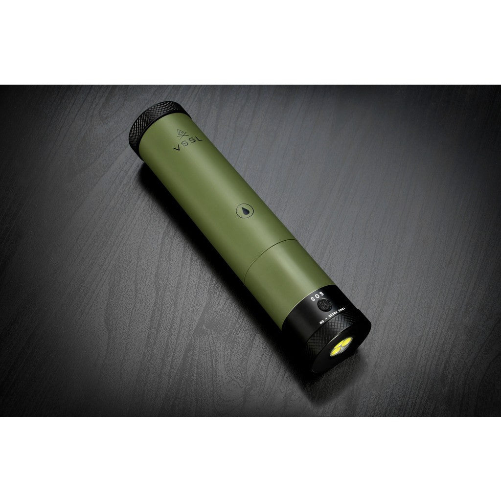 VSSL Flashlight Flask | Green