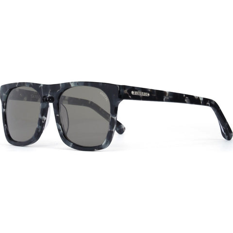 Vestal Satellites Sunglasses | Black Tortoise/Grey/Silver VVSA009
