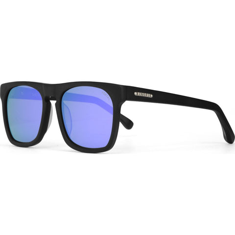 Vestal Satellites Sunglasses | Matte Black/Purple Mirror/Silver VVSA010