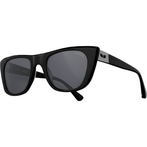 Vestal St. Jane Sunglasses | Polished Black/Grey/Brushed Gun Metal VVSJ001