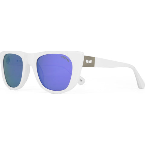 Vestal St. Jane Sunglasses | Matte White/Purple Mirror/Silver VVSJ014