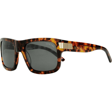 Vestal Theremin Sunglasses | Tortoise/Green/Gold VVTH003