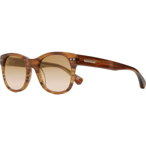 Vestal Unions Sunglasses | Striped Cola/Brown-Red Gradient/Gold VVUN001