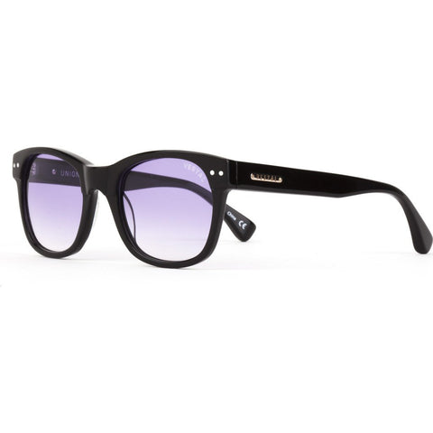Vestal Unions Sunglasses | Polished Black/Purple Grad./Silver VVUN009