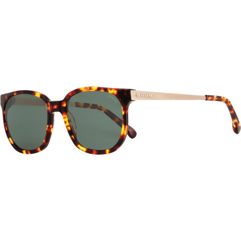 Vestal Windrose Sunglasses | Tortoise/Green/Gold VVWR002