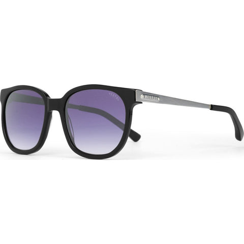 Vestal Windrose Sunglasses | Polished Black/Purple Grad./Silver VVWR013