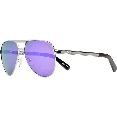 Vestal Westerlies Sunglasses | Silver/Pureple Mirror VVWS014