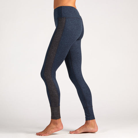 Vuori Women's Asymmetric Block Leggings | Midnight