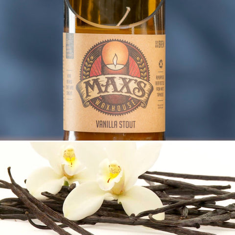 Max's Waxhouse 6oz Beer Bottle Candle | Vanilla Stout