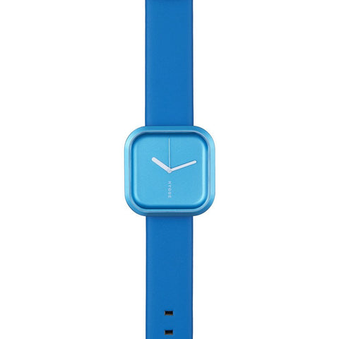 Hygge Väri Ocean Blue Watch | Blue Leather