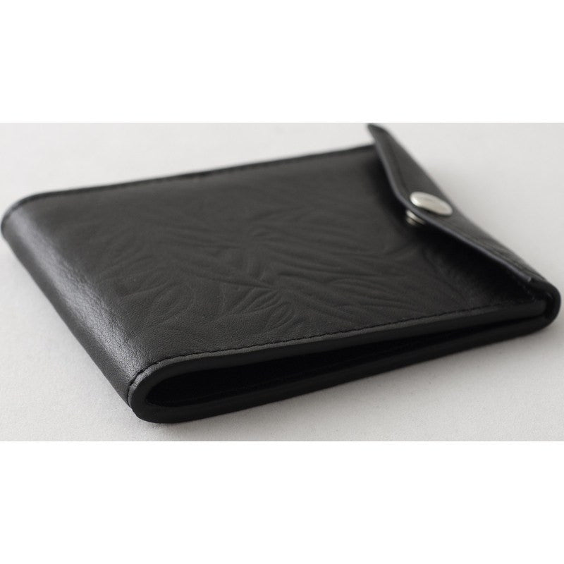 Orchill Vault Bi-Fold Snap Closure Wallet | Black