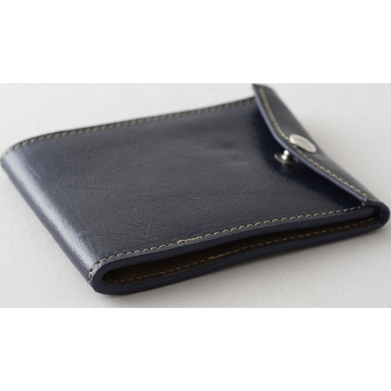 Orchill Vault Bi-Fold Snap Closure Wallet | Blue/Brown