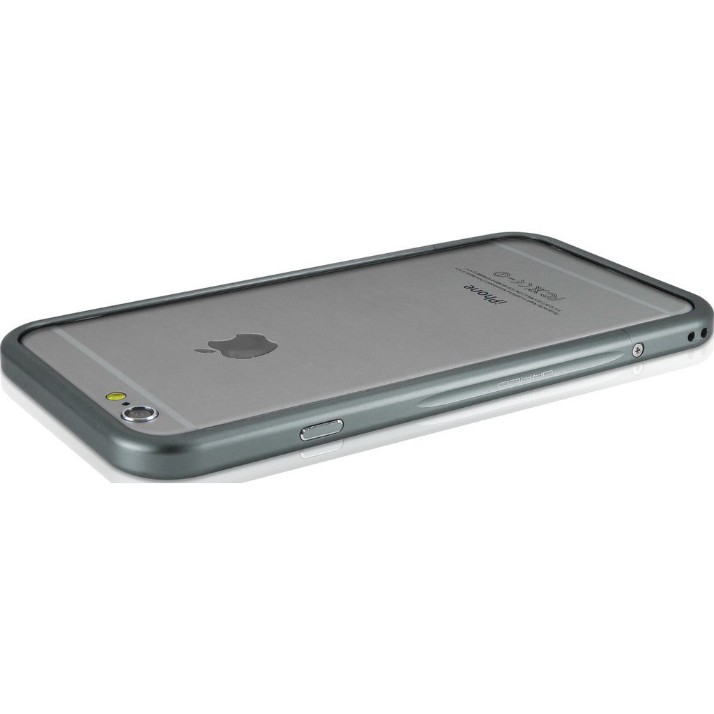DRACO Design Venano Aluminum Bumper iPhone 6/6s Plus Case | Gray DR6SP001A1-GA