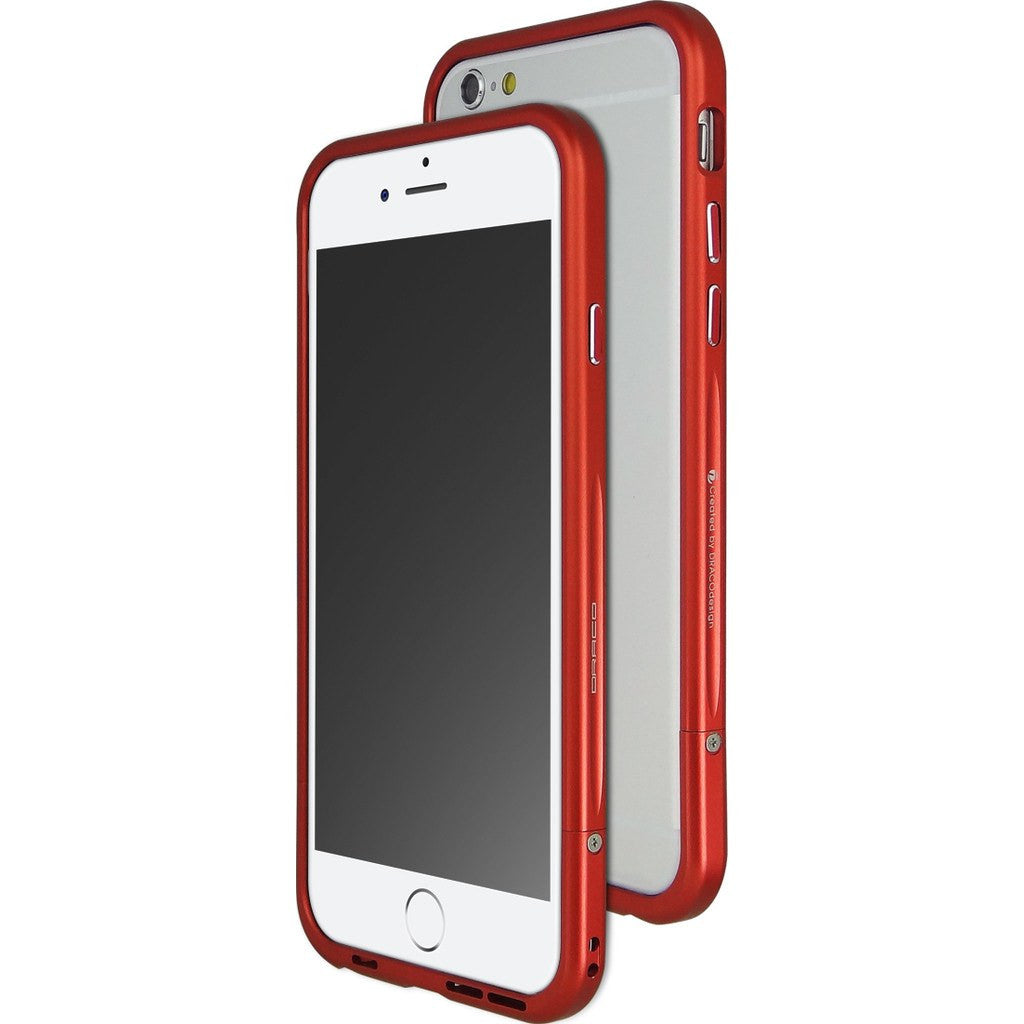 DRACO Design Venano Aluminum Bumper iPhone 6/6s Case | Red DR6S001A1-RD