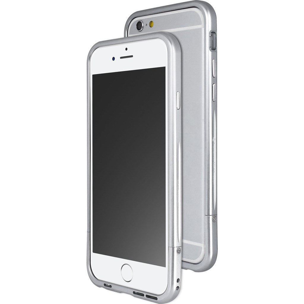 draco design venano aluminum bumper iphone 6 6s case silver sportique. Black Bedroom Furniture Sets. Home Design Ideas