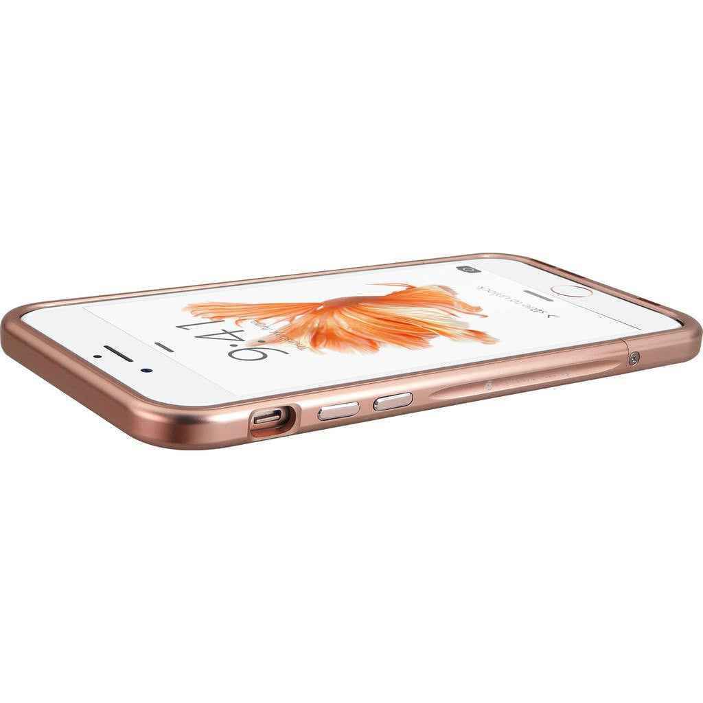 DRACO Design Venano Aluminum Bumper iPhone 6/6s Plus Case | Rose Gold DR6SP001A1-RGD