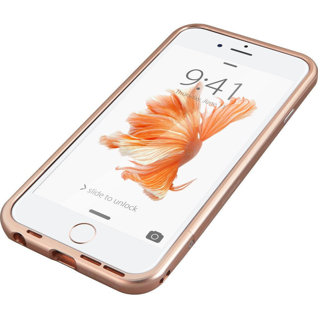 DRACO Design Venano Aluminum Bumper iPhone 6/6s Case | Rose Gold DR6S001A1-RGD