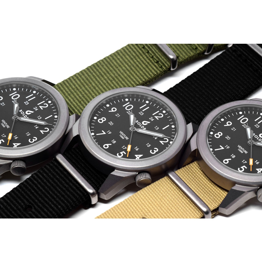 BOLDR Venture Watch | Adventure Khaki