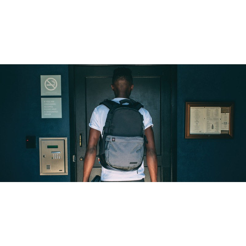 Lexdray Vienna Pack Backpack | Black/Grey