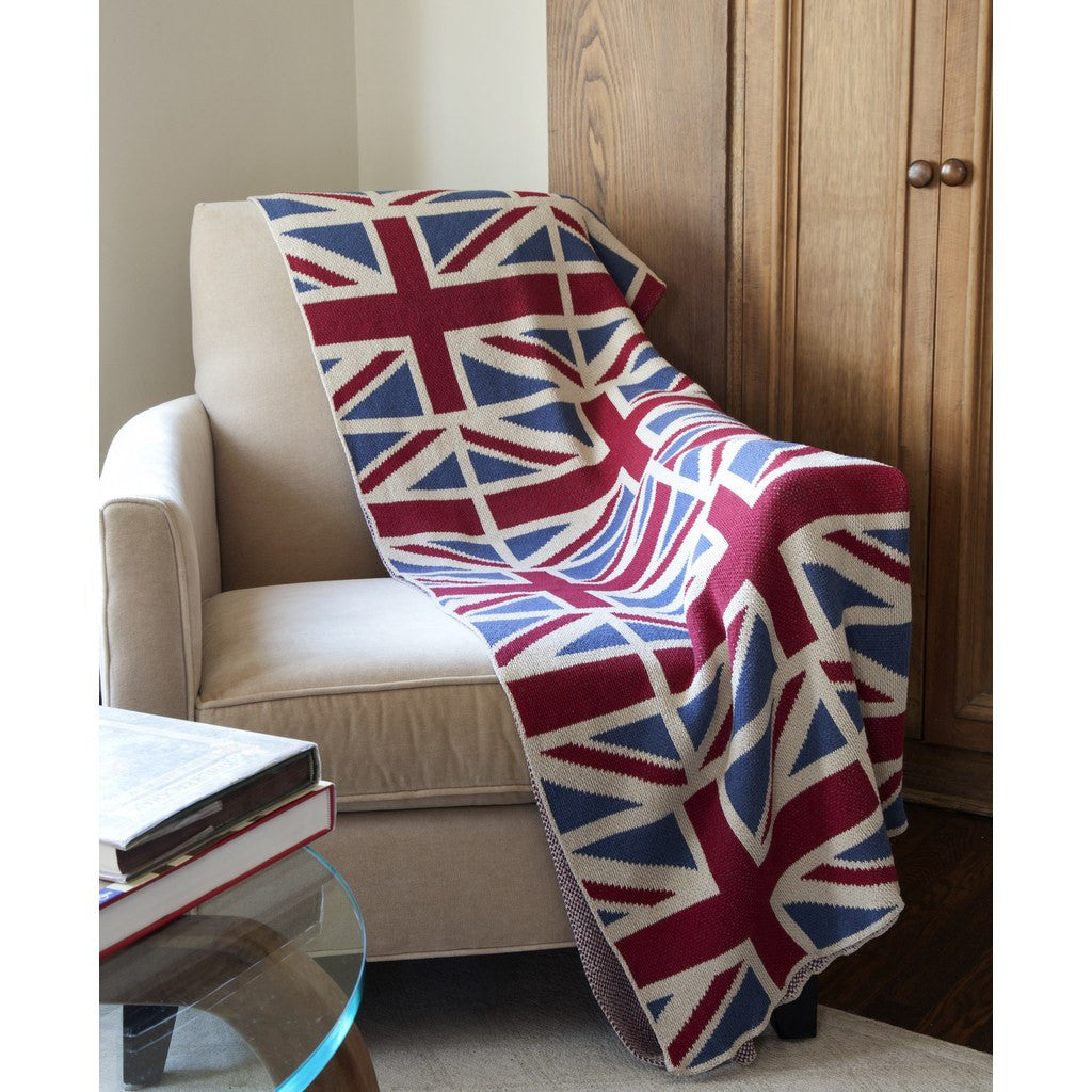 in2green Vintage Union Jack Eco Throw | Red/White/Blue BL01UJ5