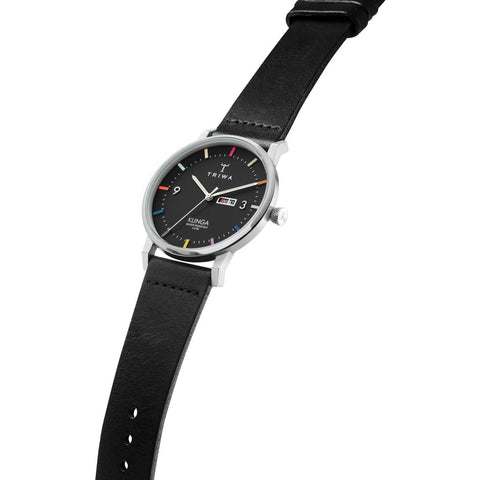 Triwa Vivid Klinga Watch | Black Classic- CL010112-KLST116