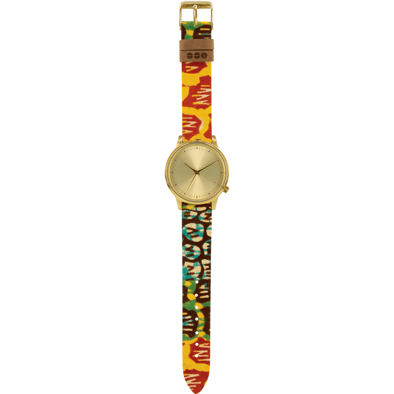 Komono x Vlisco Estelle Watch | Gold