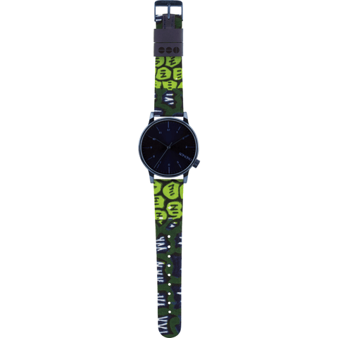 Komono x Vlisco Winston Watch | Indigo
