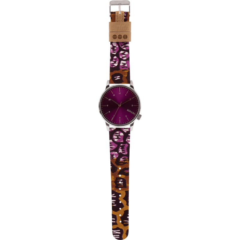 Komono x Vlisco Winston Watch | Silver