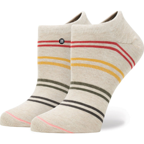 Stance Jah Invisible Boot Women's Everyday Socks | Oatmeal Heather M W215D17JAH