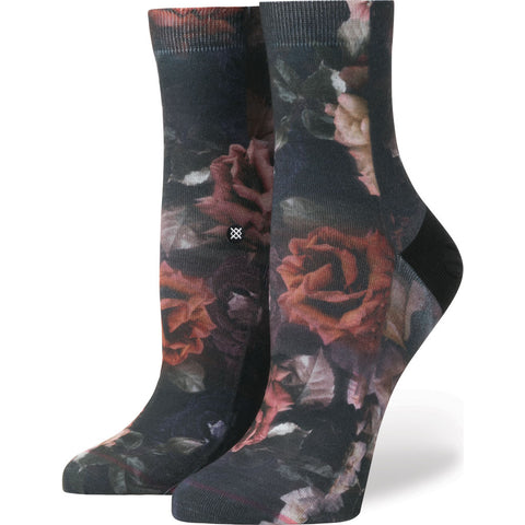 Stance Dark Blooms Anklet Women's Everyday Socks | Black M W315D17DAR