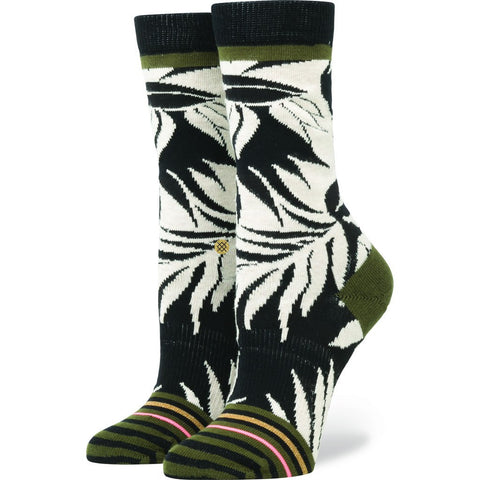 Stance Isla Girl Women's Socks | Black Medium W525D16ISL