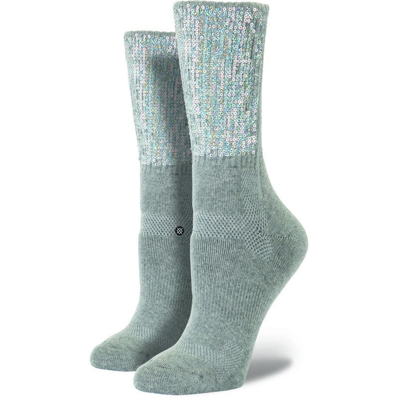 Stance Nu Native Women's Crew Socks | Heather Grey OS