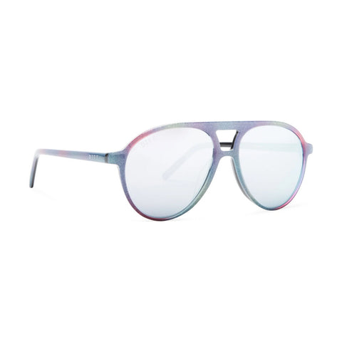 Diff Eyewear Jett Sunglasses | Rainbow + Lavender Flash