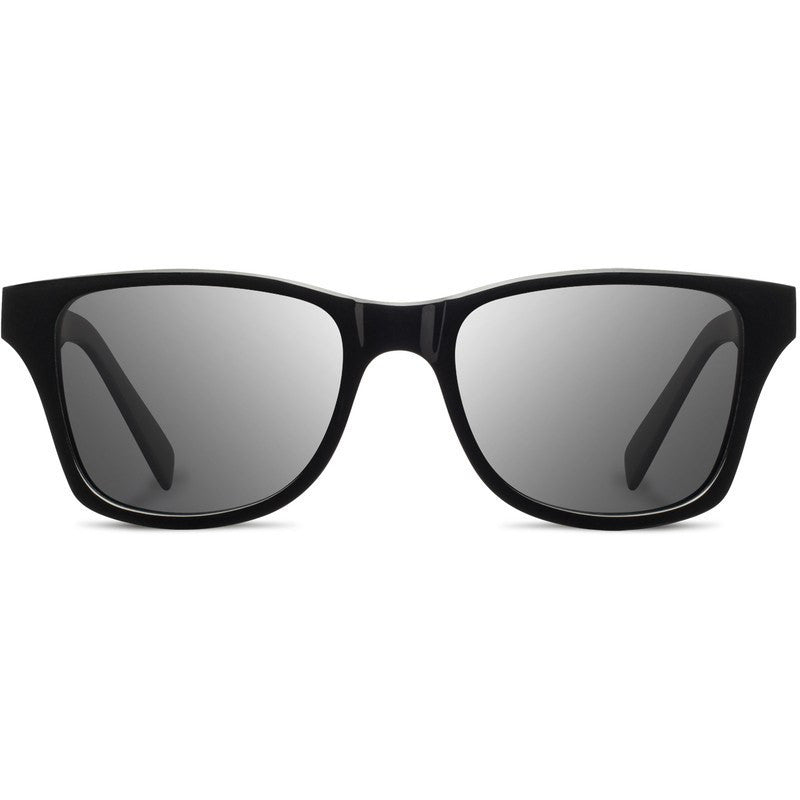Shwood Canby Acetate Fifty Fifty Sunglasses | Black & Ebony / Grey