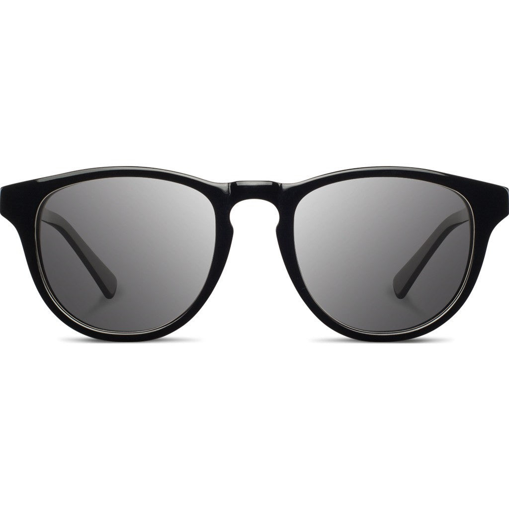 Shwood Francis Acetate Sunglasses | Black & Ebony / Grey WAFBEG