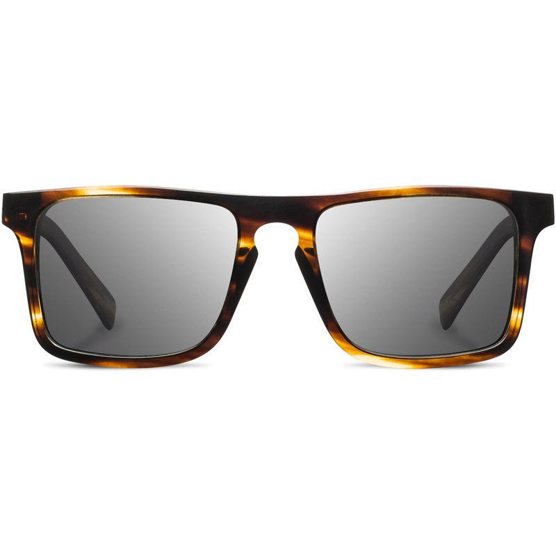 Shwood Govy 2 Acetate FIfty FIfty Sunglasses | Tortoise & Ebony / Grey