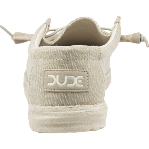 Hey Dude Wally L Canvas Shoes | Oat