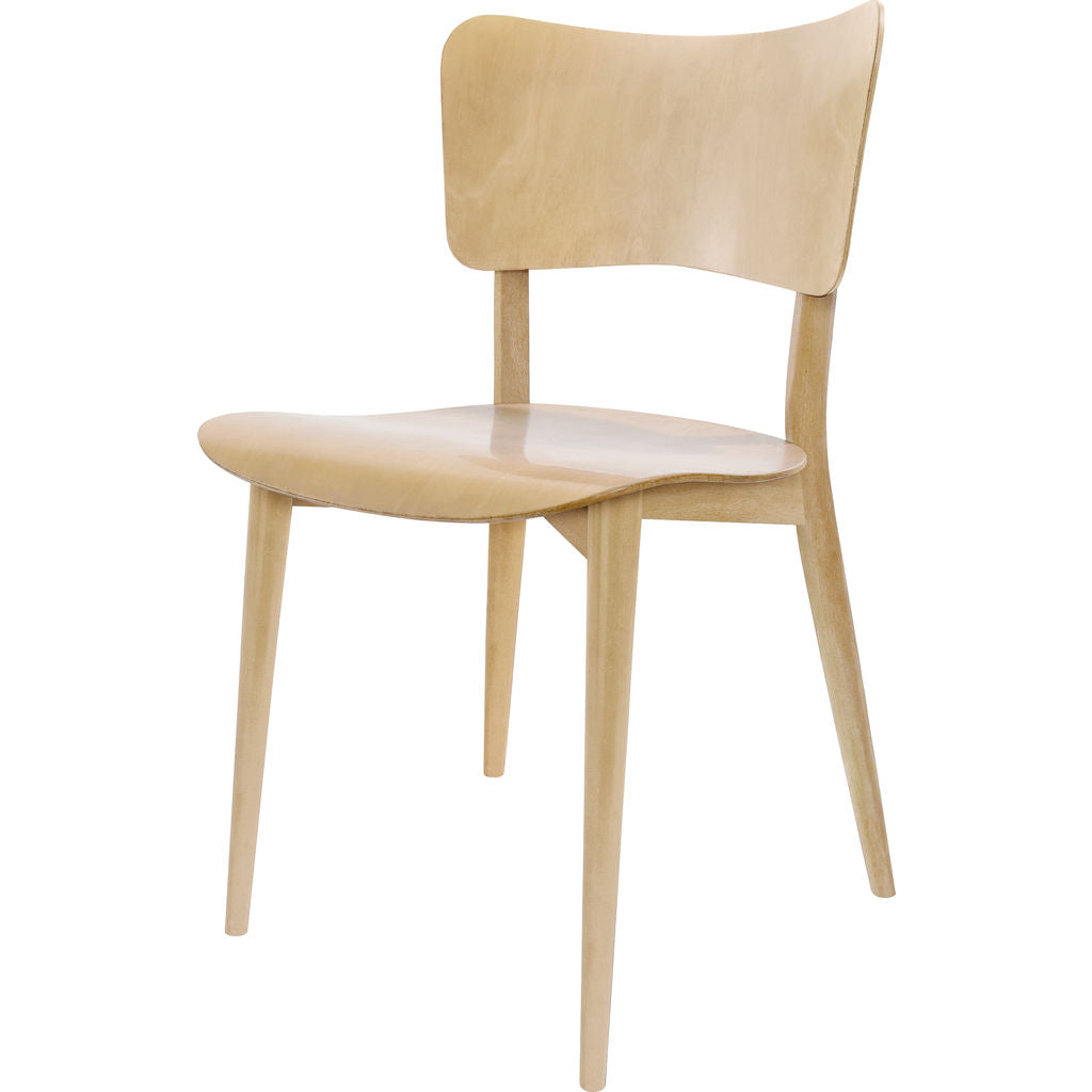 Wohnbadarf Cross Frame Dining Chair --Black WB-30-1100 N