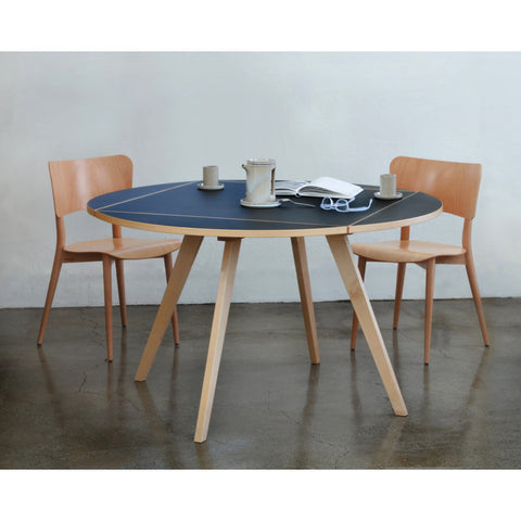 Wohnbadarf Square-Round Dining Table | Natural WB-50-1100