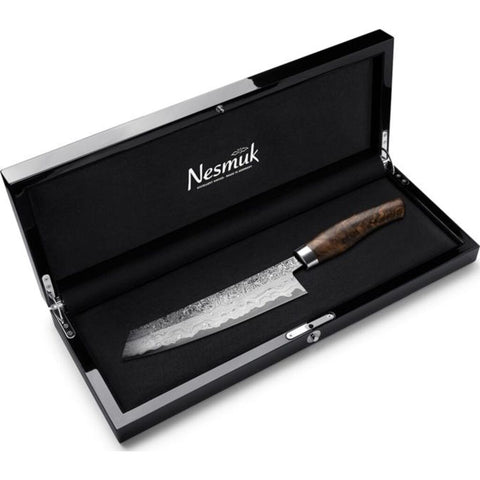 Nesmuk Exklusiv C150 Chef's Knife Walnut Burl