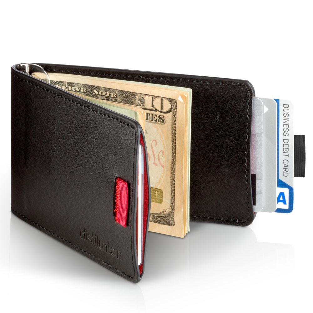 Distil Union Wally Bifold Wallet | Ninja Black WBF101