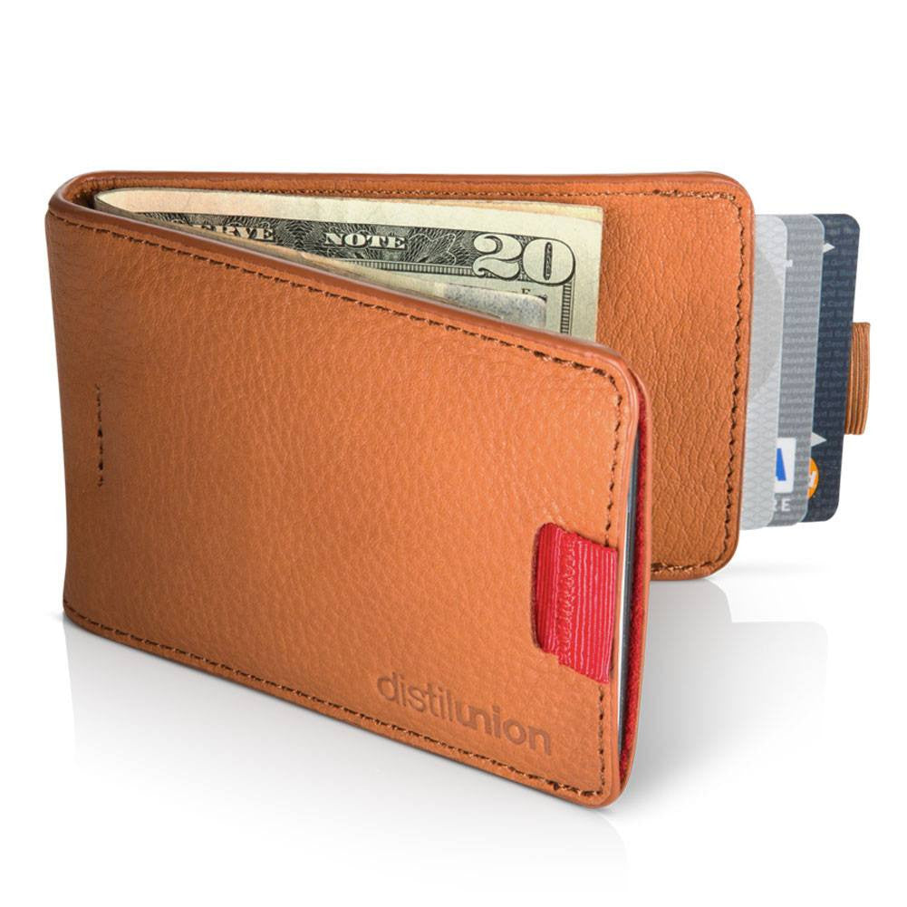 Distil Union Wally Bifold Wallet | Cowboy Brown WBF102