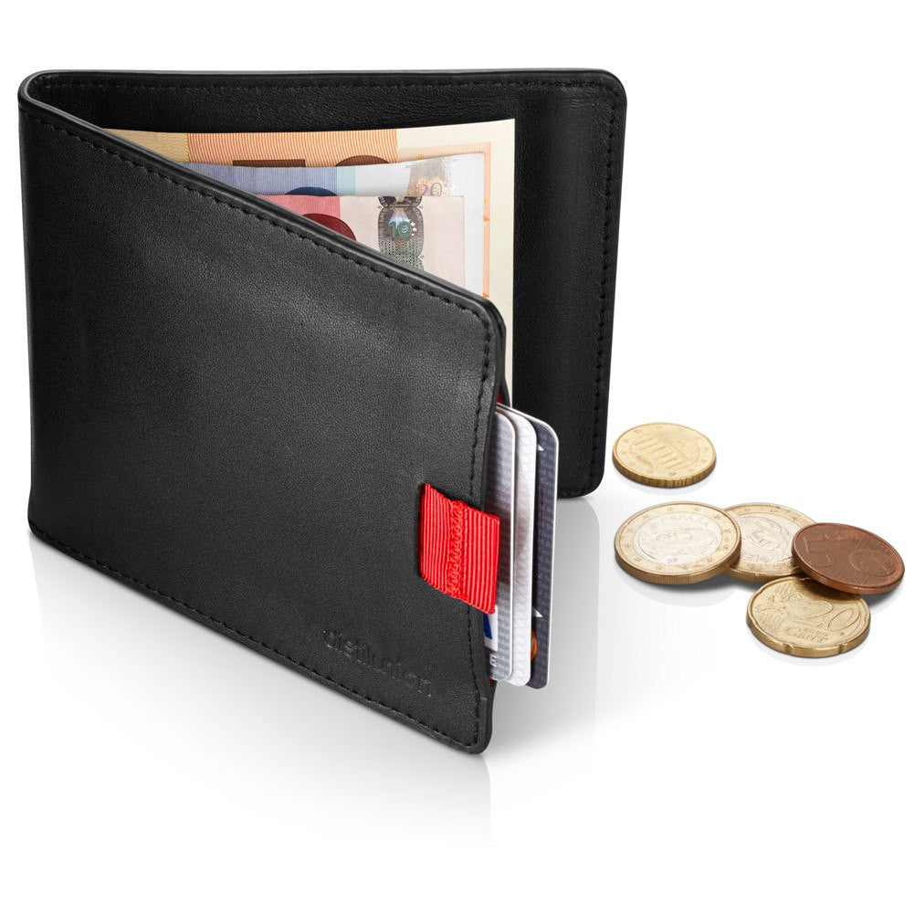 Distil Union Wally Euro Coin Wallet | Ninja Black WE101