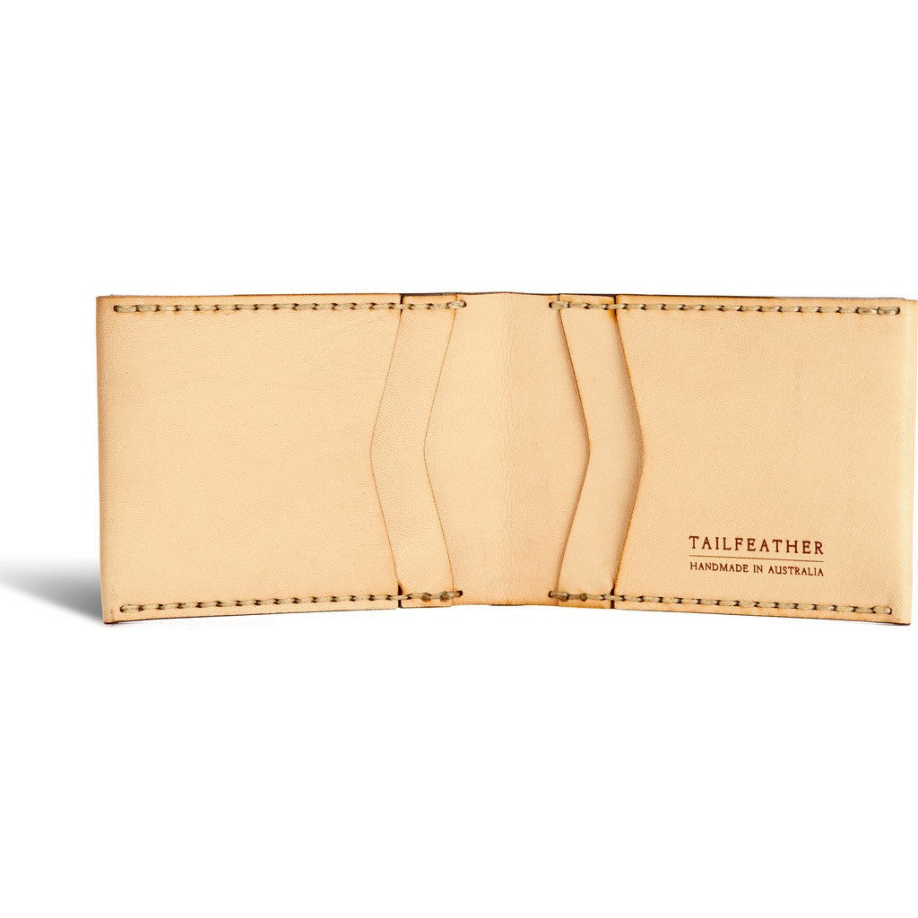 Tailfeather Finch Bifold Wallet | Natural WLT022N