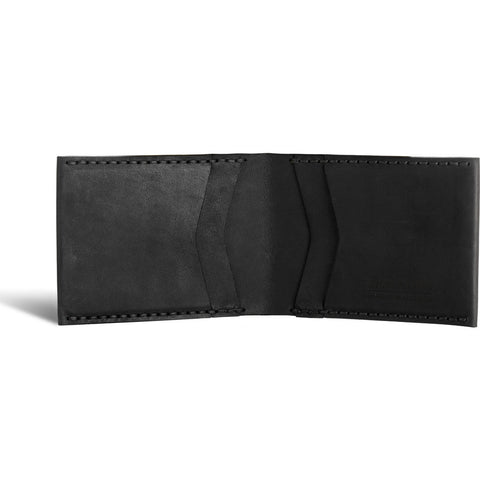 Tailfeather Finch  Bifold Wallet | Black WLT022B