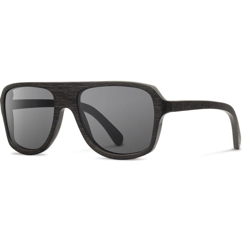 Shwood Ashland Original Sunglasses | Dark Walnut / Grey