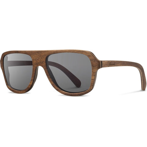 Shwood Ashland Original Sunglasses | Walnut / Grey